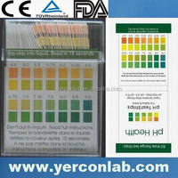 pH saliva indicators CE ISO FDA
