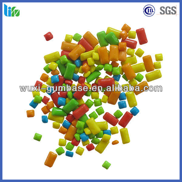 Hot selling xylitol christmas chewing gum candy apples in bulk