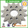 14 teeth self-cleaning steel dirtbike front sprockets