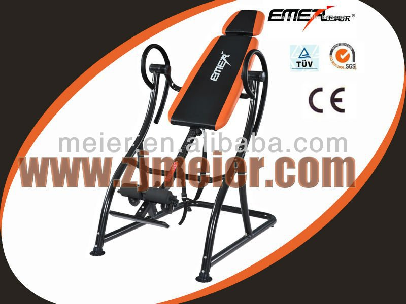 EMER XJ-I-06B Inversion Table with steel construction gym equipment for home use