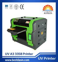 UV A3 DS3358 high definition 5760 *2880DPI C, M, Y, K,+4W nail art printer photocopy machine digital fabric printing machin...
