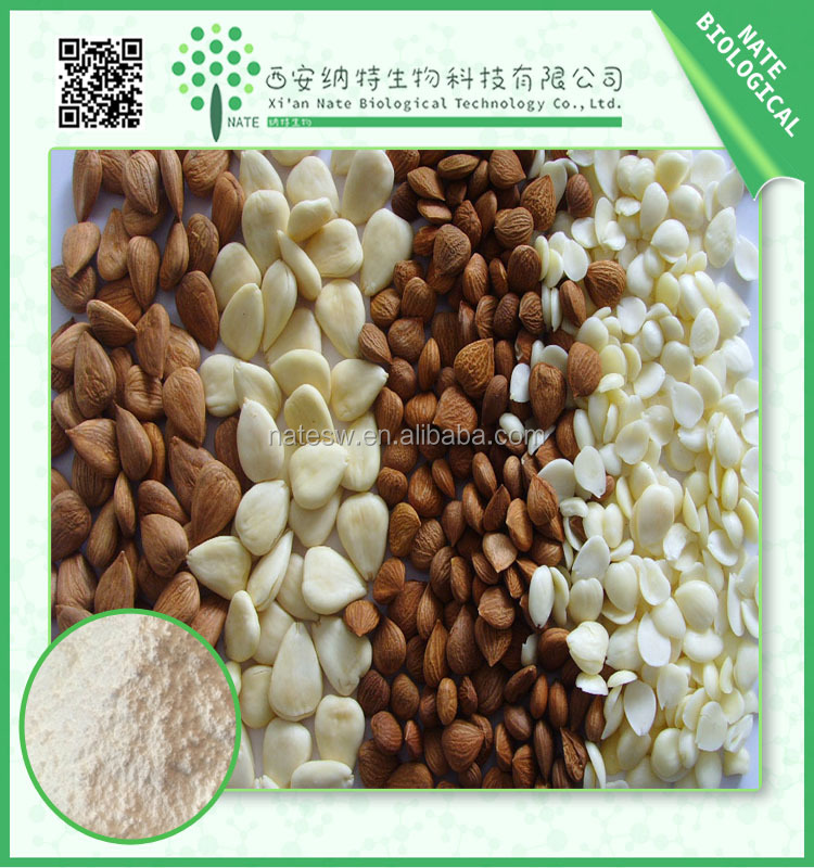HOT SALE Bitter Apricot Seed Extract/ Bitter Almond Extract Powder 10:1 Free Sample