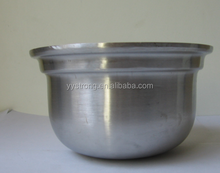 OEM bright and clean stainless steel pots and pans made of stamping parts made in China