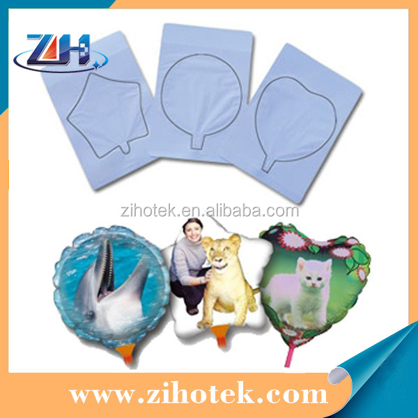 Printable photo balloons for inkjet printer