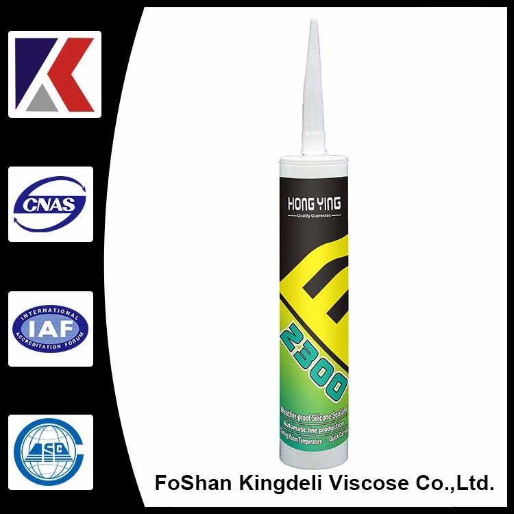 silicone rubber adhesive sealant for most universal building materials