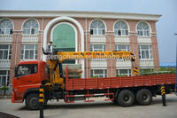 Chinese small hydraulic cylinder cargo crane truck supplier