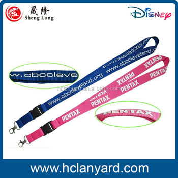 high quality custom 3D print logo lanyard