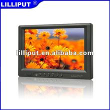 "7"" LCD Touch Car Monitor with DVI & HDMI Input 669GL-70NP/C/T"