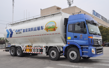 60CBM wheat flour 3 axle truck trailer/Bulk powder and particle tank trailer bulk cement semi-trailer