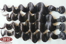 "Payment Paypal accepted 100% aliexpress cheap virgin brazilian hair weave 10""-34"" loose wavy with befa label"