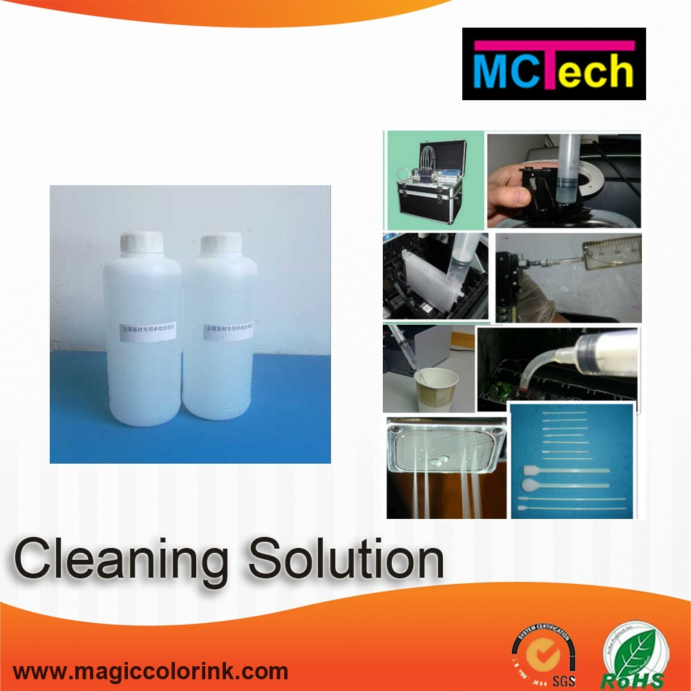 For Epson/HP/Canon/Brother/Roland printer print head paver cleaning solution