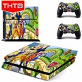 Custom design Dragon Ball skin for ps4 console vinyl sticker