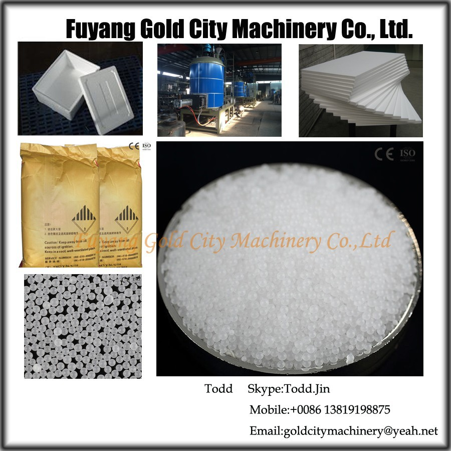 Expandable Polystyrene Raw Material for large plate