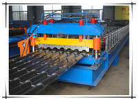 950 Arc glazed tile roll forming machine