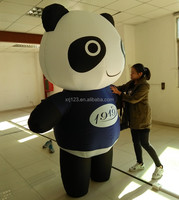 High quality Kung Fu Panda inflatable mascot costume for promotion,welcome OEM and ODM
