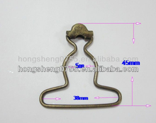 manufacturing metal belt buckle back /metal insert belt buckle