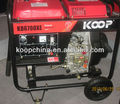 CE Approved KOOP Air Cooled Diesel Generator-KDF6700XE