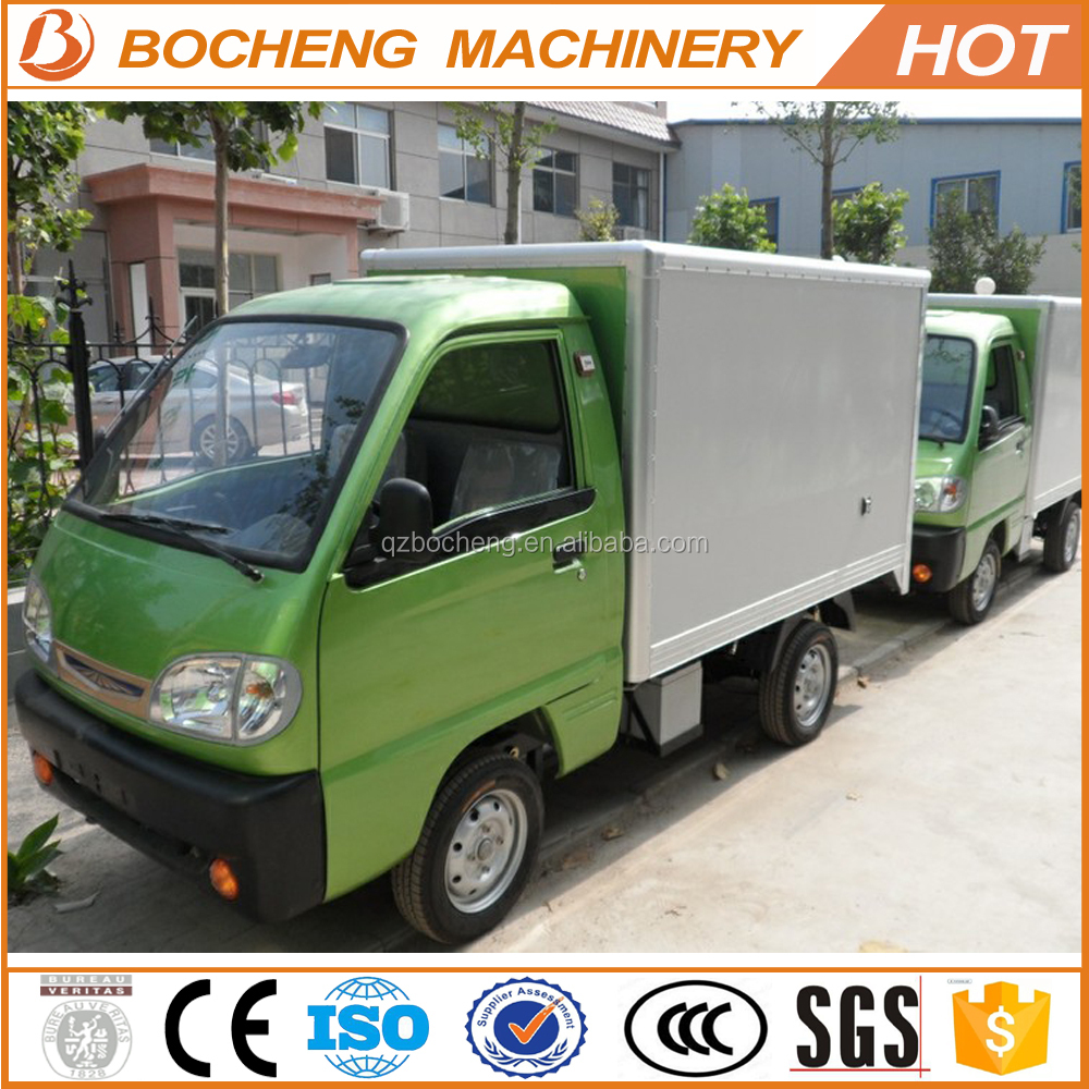 500kg Mini Electric Cargo Van With EEC L7e