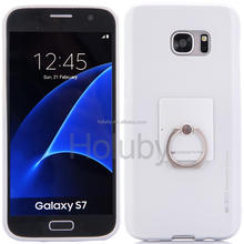 Mercury Goospery i Jelly & Ring + Series Finger Holder TPU Back Cover Protective Case for Samsung Galaxy S7/ G9300