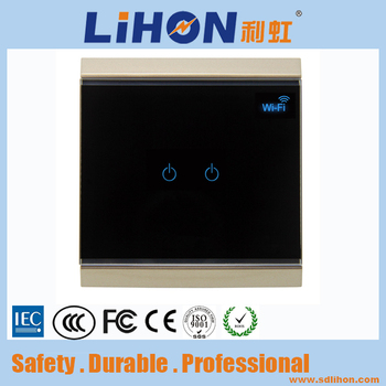 smart phone controlled intelligent wifi wall power switch