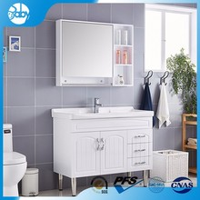 colorful bathroom cabinet with towel bar furniture