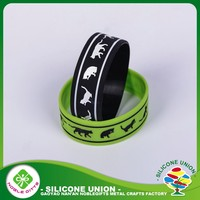 Silicone real sports item cool reusable wristbands