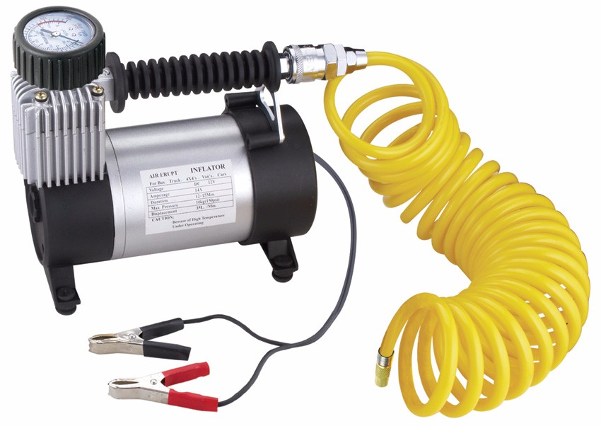 Heavy Duty Mini Air Compressor 100PSI Car Tyre Inflator