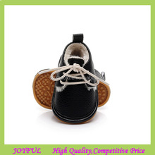 2017 Winter warm fur genuine leather moccasins baby shoes wholesale