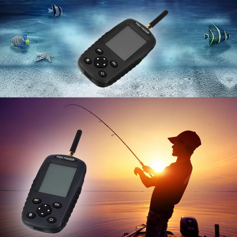 High Performance Colorful Screen Fishing Sonar Fish Finder