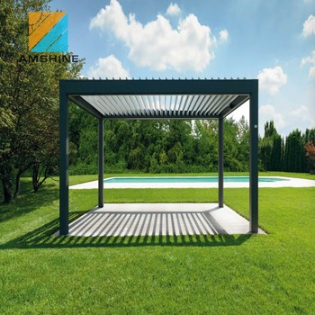 Waterproof design garden outdoor adjustable pergola