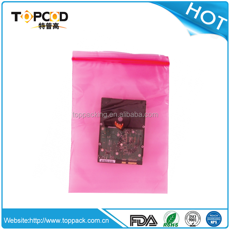 Antistatic ziplock bag from Chinese professional manufacturer-TOPCOD