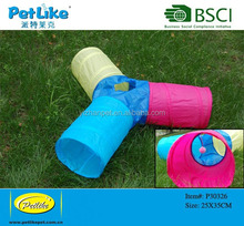 High Quality Indoor cat tunnel,cat toy collapsible tunnel
