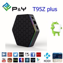 TV box pendoo T95Z plus Android6.0 Amlogic S912 4K*2K Octa Core 2G + 16G Streaming Media Player tv box