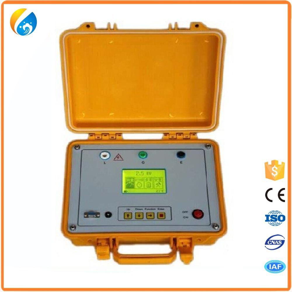High Voltage Insulation Slicer : High accurancy digital megger voltage insulation
