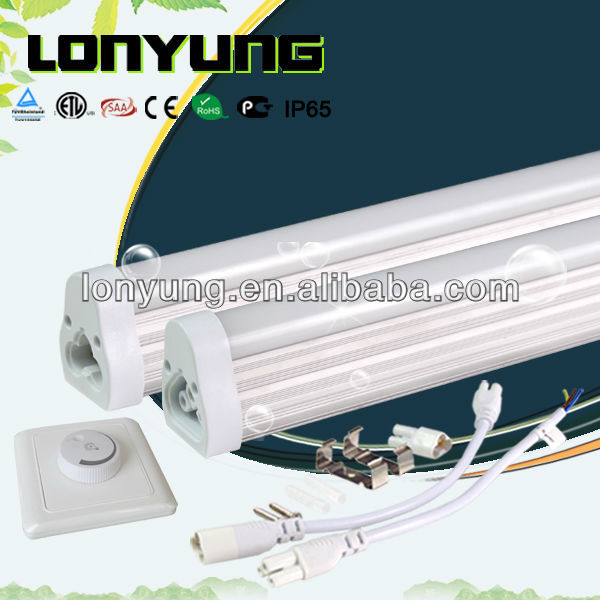 best led T5 cfl ce etl ul new USA & Europe T5 Fluorescent dimmable tube 10W 12W 15W 21W