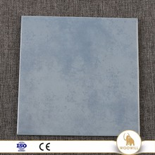 Chinese rustic decoration living room porcelain blue travertine tile