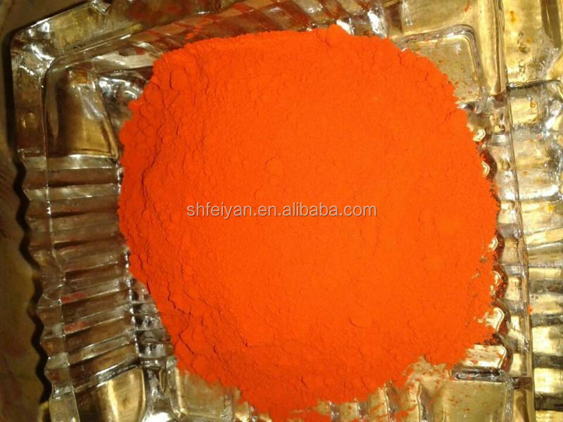 Orange Iron Oxide Pigment Colors for Ceramic Body