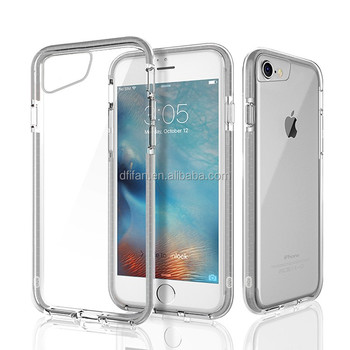 DFIFAN universal tpu case for iphone 6 7,transparent crystal shockproof tpe tpu case cover for apple iphone 6 for iphone7