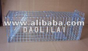 Animal Cage Trap With Released Door
