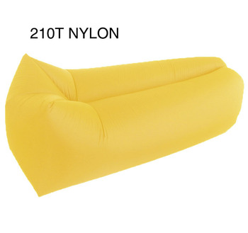 210T Nylon/polyester Colorful light weight inflatable air chair sofa bed lounger