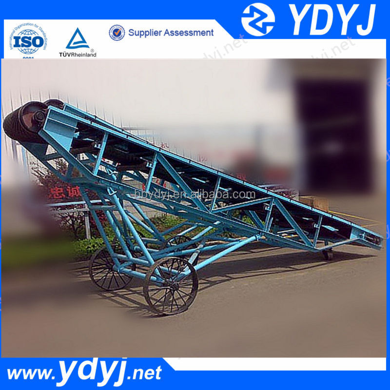 Adjust height Mobile Loading Belt Conveyor for truck and container