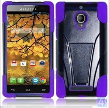 Rubber Hard Back Cover Case for Alcatel One Touch Fierce 7024W P-ACT7024WHCSO001