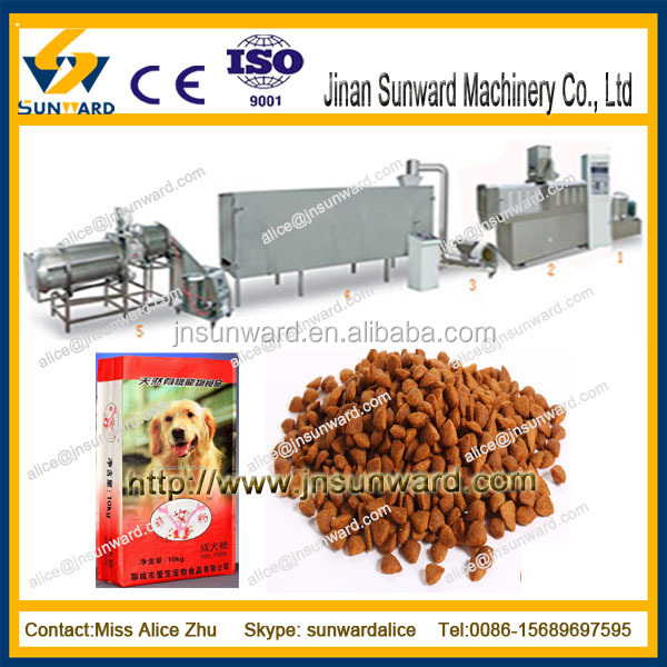 Fully Automatic animal food production process equipments / fish feed line