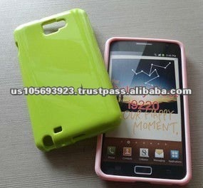 TPU jelly Case For Samsung galaxy note i9220