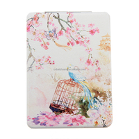 Beautiful scenery travelling pocket mirror,magnet compact mirror