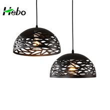Zhongshan Guzhen Home Light Design Black Iron Art Lamparas De Techo Modern Lighting