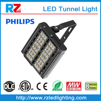 2016 Hot sale Led outdoor light Meanwell power supply outdoor ip65 led tunnel light 100w