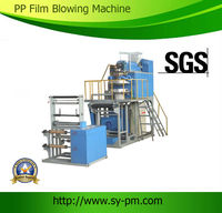 SJ-55 Ruian professional produce Automatic Plastic PP film blown extruder machine