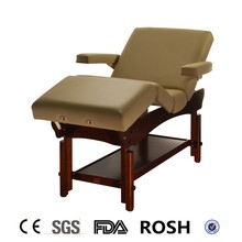 """Archer-Deluxe-LA"" level Armrest wooden Massage tables"