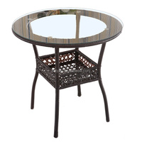 Wholesale Cheap Rattan Table For Graden